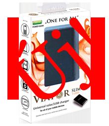 Napelemes mobil töltők - Viator Slim