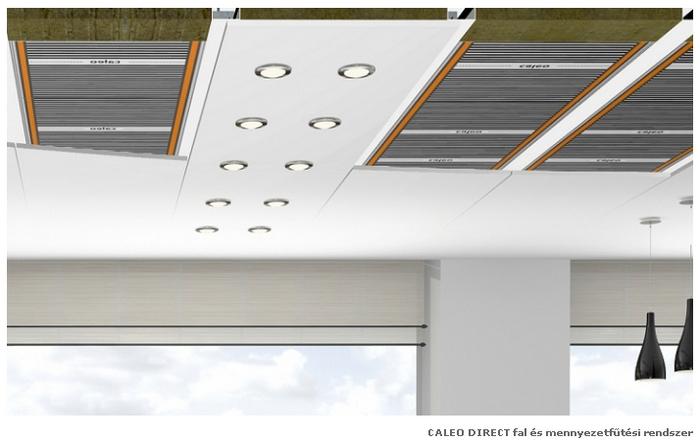 Caleo Carbon fűtőfilm, Caleo Direct fal- és mennyezeti fűtési rendszer