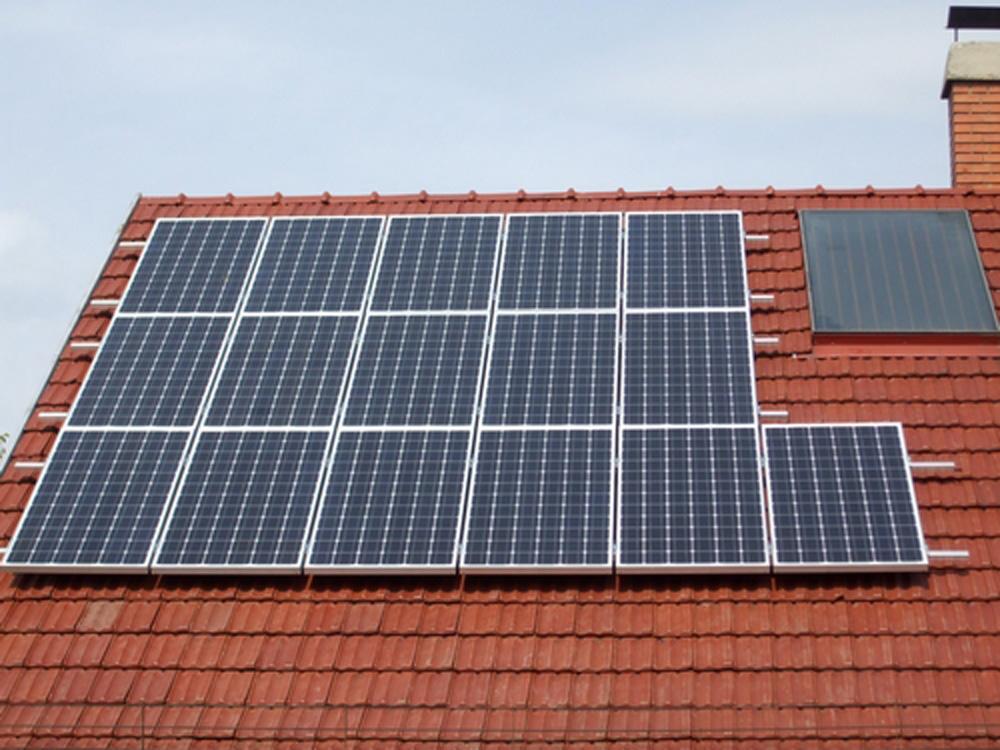 3 KWp napelem rendszer kiépítése
