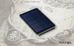 Viator Slim Napelemes töltőkészülék - Napelemes mobil töltők