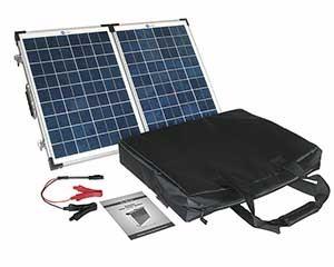 Hordozható napelemes készlet lakókocsikhoz, kempingezéshez (40W, 60 W, 90W) - Hordozható, nagyteljesítményű Napelemes töltők