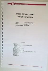 ETI elektromos lakáselosztó-rendszerek és készülékek - ETIDO típuselosztó dokumentációja