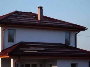 A fogyasztáshoz igazított napelem-mennyiséget mindenképp el kellett helyezni