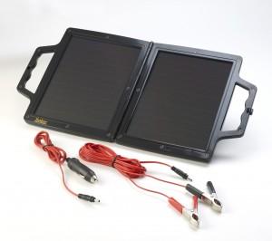 PV-Logic 12V/4W Napelemes töltő, a készlet