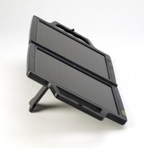 PV-Logic 12V/4W Napelemes töltő, oldalnézet