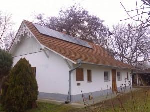 Bugacpusztaháza, 2 kW-os napelem rendszer kiépítése