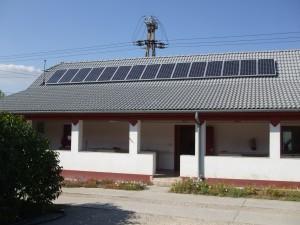 ELTSZER Kft., Kiskunfélegyháza - telephelyi, saját 3 kW-os napelemes rendszerünk