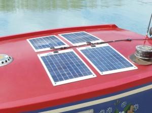 Flexi-PV Napelemek hajóra szerelve