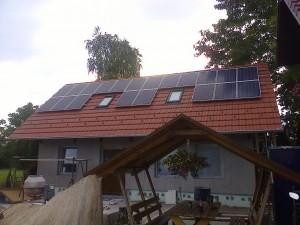 Jászszentlászló – 5 kW-os napelem rendszer kiépítése