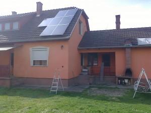 Kiskunfélegyháza, Bankfalu – 5 kW-os napelem rendszer kiépítése, 2-es kép