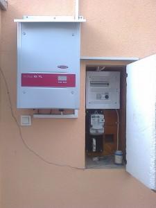 Kiskunfélegyháza – meglévő napelem rendszer bővítése 4 kW-ról 5 kW-ra, 1-es kép