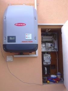 Kiskunfélegyháza – meglévő napelem rendszer bővítése 4 kW-ról 5 kW-ra, 2-es kép