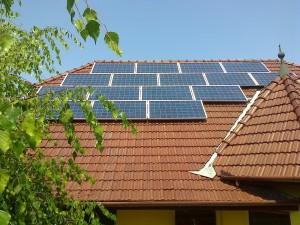 Kiskunfélegyháza, Petőfiváros, 4 kW-os SolarEdge napelem rendszer - a kiépített rendszer