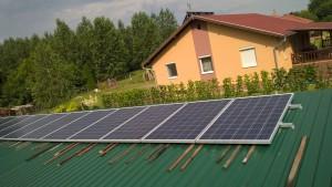 Kecskemét-Ballószög – 4,6 kW-os napelem rendszer kiépítése, 2-es kép