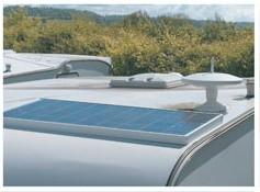 SOLAR Napelemes készlet, motoros hajón, más szerelési mód