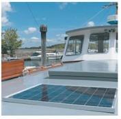 SOLAR Napelemes készlet, motoros hajón