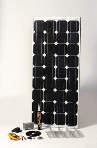 SOLAR Napelemes készlet, 80Wp