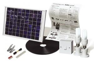 Solar Mate 10W-os Napelemes világítás, a készlet