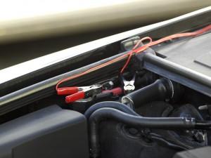 PV-Logic 12V/4W Napelemes töltő, akkura csatlakozás
