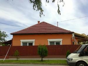 Cserépcsere után birtokba vettük a tetőt.