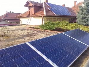 Jászszentlászló – 8 kW-os napelem rendszer kiépítése,1-es kép