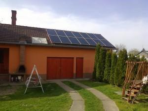 Kiskunfélegyháza, Bankfalu – 5 kW-os napelem rendszer kiépítése, 1-es kép