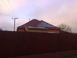A meglévő napelem rendszer bővítése 2,5 kW-al, 1-es kép