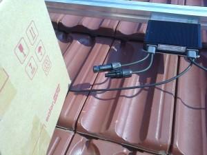 Kiskunfélegyháza, 4 kW SolarEdge napelemes rendszer, teljesítmény-optimalizáló modul