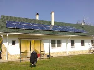 Móricgát – 5 kW-os napelem rendszer kiépítése