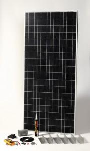 SOLAR Napelemes készlet, 120Wp