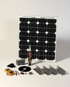 SOLAR Napelemes készlet, 43Wp