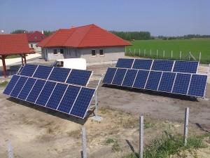 Szentkirály, falusi turizmus épületei, 6 kW-os napelem rendszer kiépítése